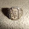 China souvenir silver ring from WW2