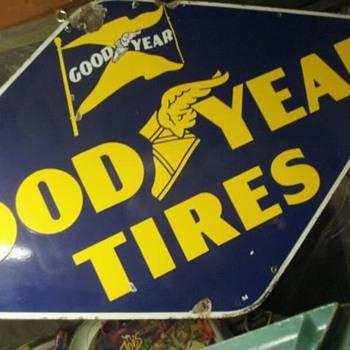 goodyear sign - Petroliana