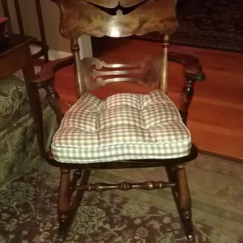 oak rocker rocking chair