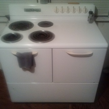 old but a goodie. ge stove