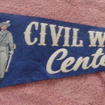 Civil War Centennial Pennant.