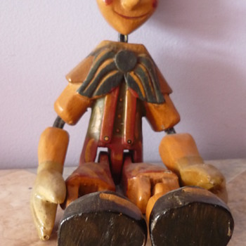 Little Wooden Head - Folk Art