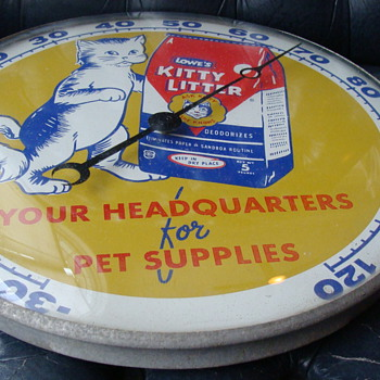 1956 Kitty Litter PAM Thermometer