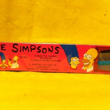 Simpsons Hygiene and First Aid tie ins