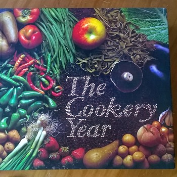 The Cookery Year Readers Digest 1981 Thrift Shop Find 3 Euro ($3.12) - Books