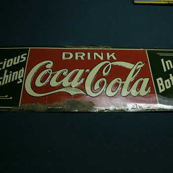 #3 The so-called NOS 1910 era coca cola sign - Coca-Cola