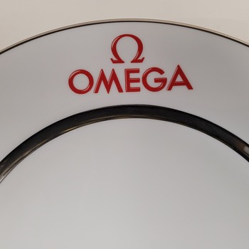 2001 Omega DeVille Collection Launch Plate - Wristwatches