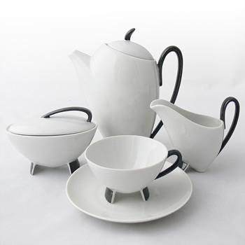 Coffee-set. Prof. Franz-Josef Karl (Porzellan Neuerer/Bavaria, 1954) - Pottery