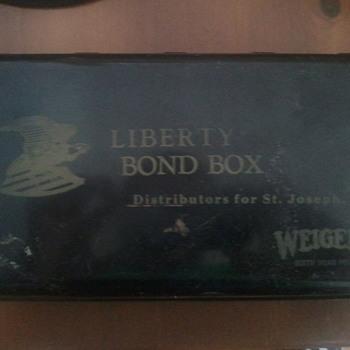 Liberty Bond Box - Military and Wartime