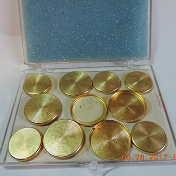 Gold Button Covers?? - Accessories