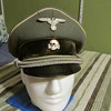 WWII German Waffen SS Infantry Officers Cap