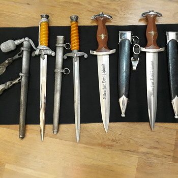 WW2 German Daggers and Flags - Military and Wartime
