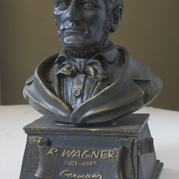 Richard Wagner Bust - Fine Art