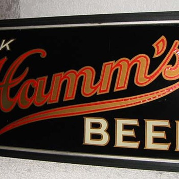 1930's Hamms beer light up sign-St Paul MN - Breweriana