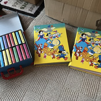 Walt Disney Storytime Collection magazine and cassettes