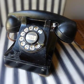 Weaponry by Telephony - Telephones