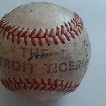 Detroit Tigers mid to late 40's