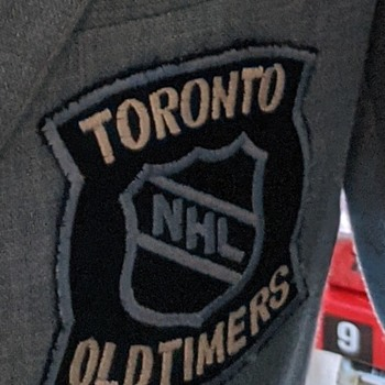 NHL Oldtimers patch. - Mens Clothing