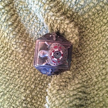 I would like to identify this ring and pins.  - Fine Jewelry
