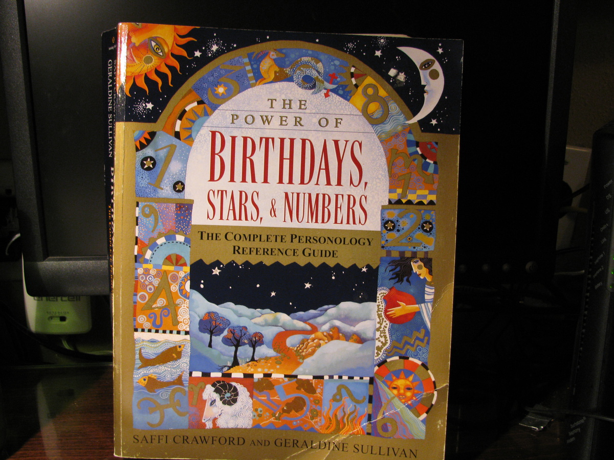 Birthday Astrology and Numerology Book   Collectors Weekly