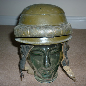 WW11 33rd Tank Brigade helmet - Military and Wartime
