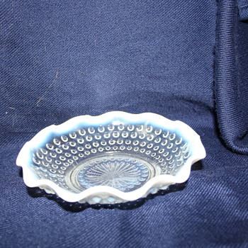 Another Fenton Opalescent Hobnail what else? - Glassware