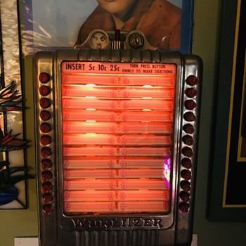 1946 Wurlitzer 3020 Wallbox, Jukebox Selector - Coin Operated