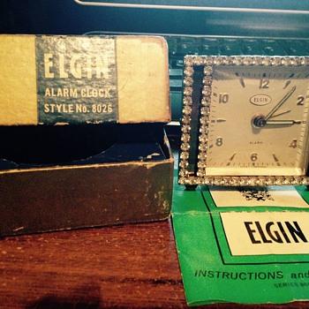 Elgin alarm clock  - Clocks