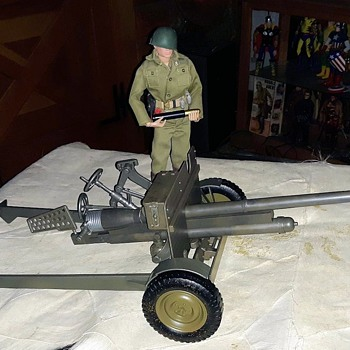 GI Joe World War II 37mm Anti-Tank Gun Part 2  - Toys