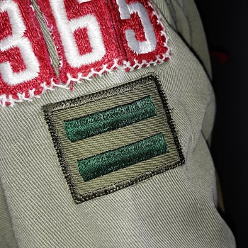 Saturday Eveining Scout Post Patrol Leader Patches - Medals Pins and Badges