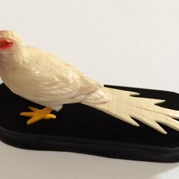 Hand Colored Bird - Animals