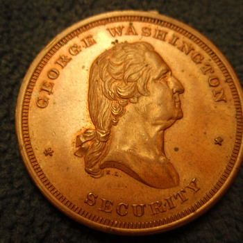 George Washington Medal - US Coins