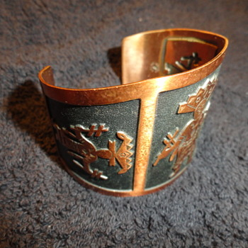 another The Bell Trading Company copper braclet