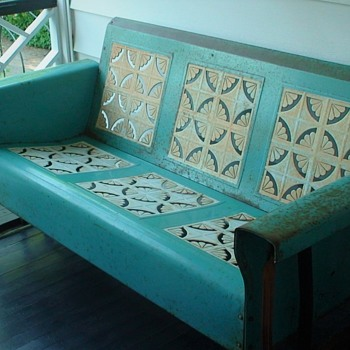 Vintage Porch Glider 1940s/1950s - Furniture