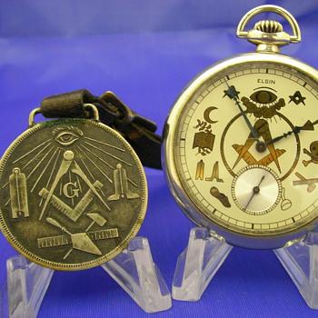 1912 Masonic Pocket Watch by Elgin
