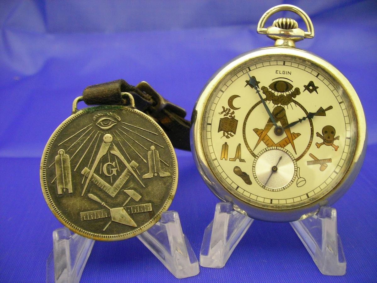 1912 Masonic Pocket Watch by Elgin   Collectors Weekly