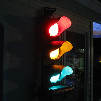 Traffic Light , my latest scrap yard find. - Lamps
