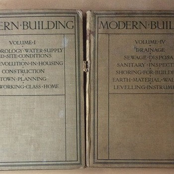 Modern Building books 1921. - Books