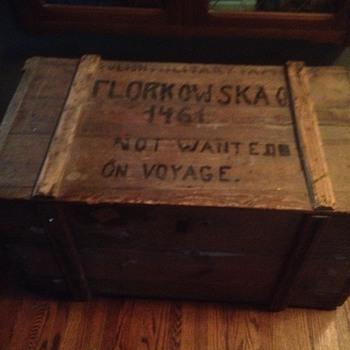 Polish Trunk - Furniture