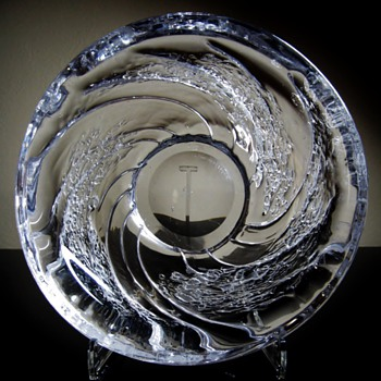 FOLKE WALVING  FOR FLYGSFORS - SWEDEN - Art Glass