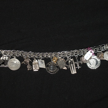 Vintage Sterling Charm Bracelet - Fine Jewelry