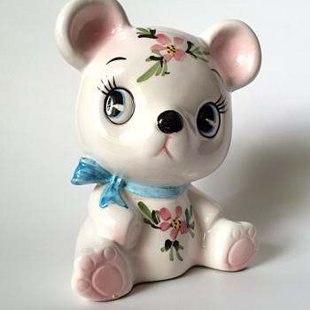 Teddy Bear Bank  - Figurines