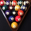 Vintage Billiard Balls the numbers are Sideways?????