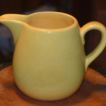 Garden City Yellow Pitcher? - Pottery