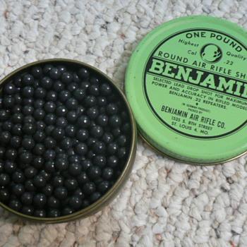 BENJAMIN LEAD AIR RIFLE SHOT - Sporting Goods