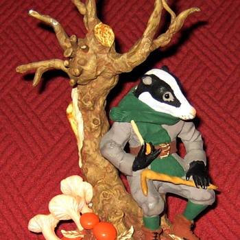 Mr. Badger-From The Wind In The Willows Series (Limited Edition) - Figurines