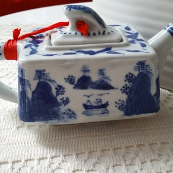 A teapot with view - Asian