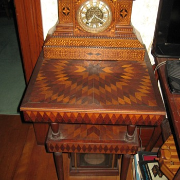 More folk marquetry/parquetry - Furniture