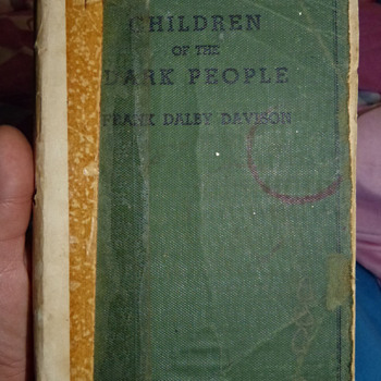 Children of the Dark People - Books