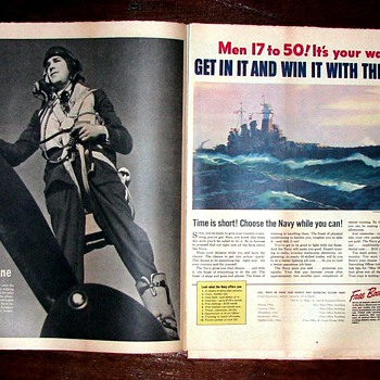 WWII Newspapers 5 - Advertising
